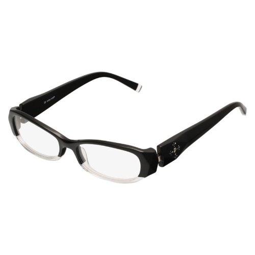 Glare Eyewear Lunettes sans monture Wrap Travis dans Gunmetal RHS77 One Size Grey U35G5i