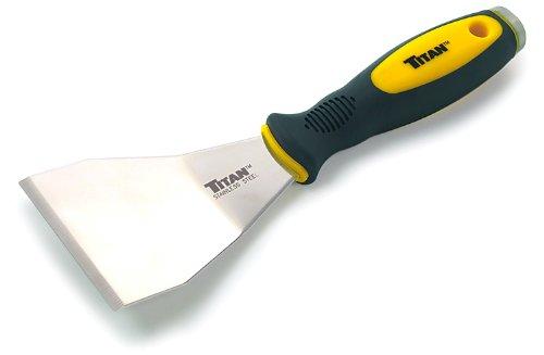 Titan Tools 115043Zoll gekröpft Edelstahl-Schaber-Mehrfarbig