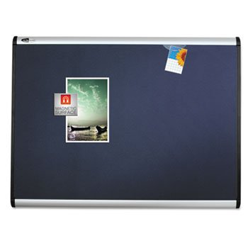 Prestige Plus Magnetisches Stoff Bulletin Board, 36x 24, Aluminium Rahmen, verkauft als je 1 (Board Magnetische Bulletin)