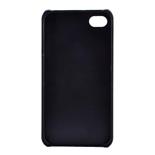PowerQ M-M Multi buntes Muster-PC für IPhone 4S 4 4G IPhone4S IPhone4 Plastic Case Kunststoff Hülle Hart Fall Cover mit schönen hübschen Muster-Druck Detailzeichnung - telephone telephone