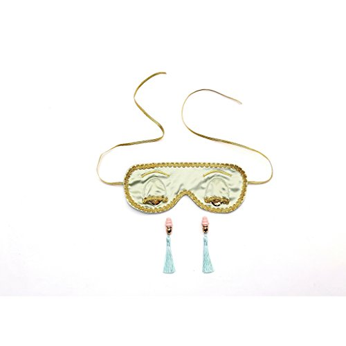 Pale Moss Breakfast at Tiffany's Sleep Mask and Earplugs Set (w/o Gift ()