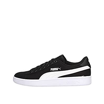 81d5fae5d97e Puma Unisex s Smash v2 CV Sneakers  Buy Online at Low Prices in ...