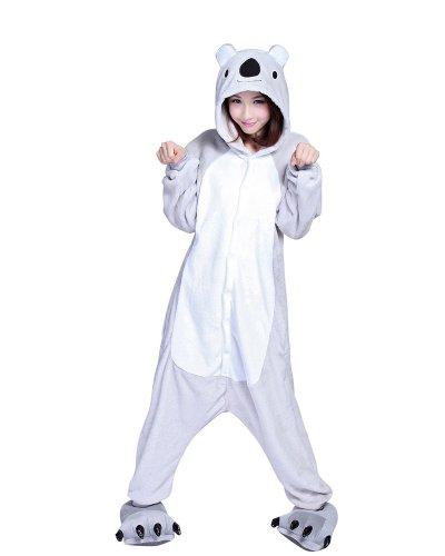Keral Kigurumi Pyjama Erwachsene Anime Cosplay Halloween Kostüm Kleidung_koala_L