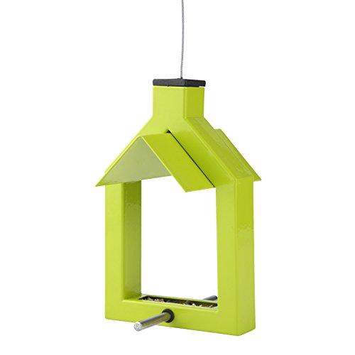 Futterstation Alicante Vogelhaus zum Aufhängen - lindgrün