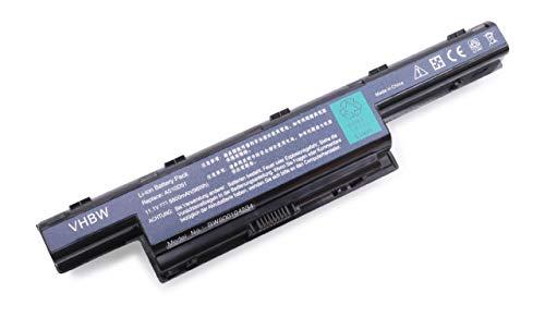 vhbw Batterie LI-ION 8800mAh Noire adaptée pour Acer Aspire V3-772, V3-772G etc. remplace 31CR19/652, AS10D31, AS10D3E, AS10D41, AS10D61, AS10D71 etc.