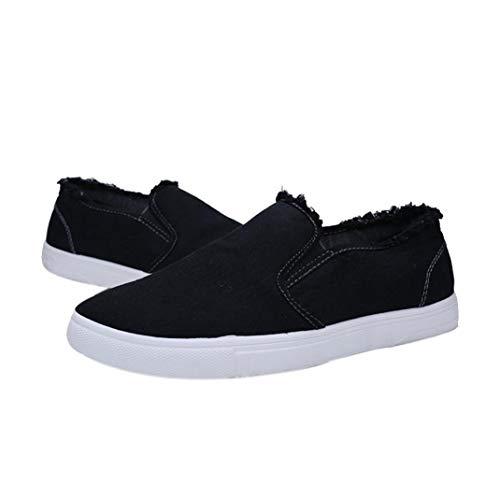 edad680e64fd3f Chaussures de Sports Homme CIELLTE Sneakers Chaussures de Course Baskets  Chaussures Plates Tennis Loisirs Chaussure de