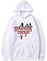 Sudadera Stranger Things Mujer, Sudadera Stranger Things 3, Stranger Things Niña Sudadera con Capucha Stranger Things Niña y Niños Deporte Sudadera Impresión Streetwear Sudaderas