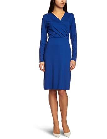 Olsen 13001017 Women's Jersey Dress Cobalt Size 8
