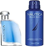 Nautica Blue Sail Combo Gift Set (EDT 50ml + Deo 150ml)