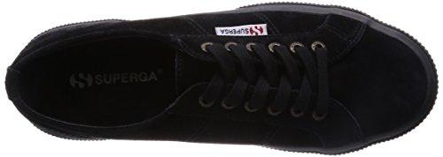 Superga 2750 Sueu, Baskets mode mixte adulte Noir (Black 999)