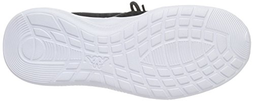Kappa Sphinx, Sneakers Basses Mixte Adulte Noir (Black/white)