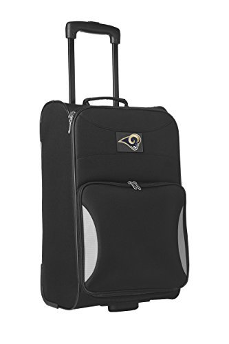 nfl-st-louis-rams-steadfast-upright-carry-on-luggage-21-inch-black-by-denco