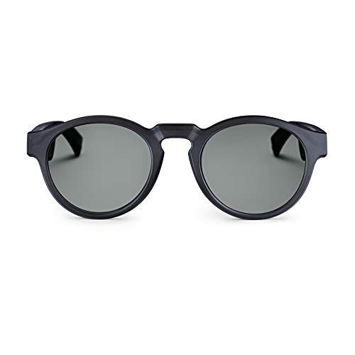 Bose Unisex- Erwachsene Frames Audio-Sonnenbrille, Rondo, schwarz, 51 x 148 x 51