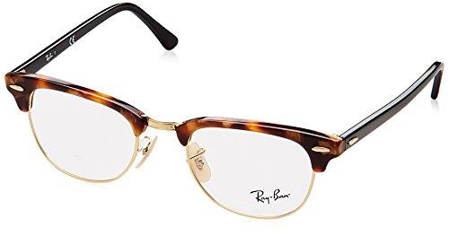 Ray-Ban Unisex-Erwachsene Brillengestell 0rx 5154 5494 49, Braun (Brown Havana)