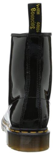 Dr. Martens 1460 W, Bottes femme Noir (patent lamper)
