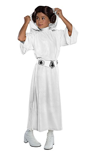 Rubies Official Disney Star Wars Princess Leia, Child Costume - Medium Ages 5 -7