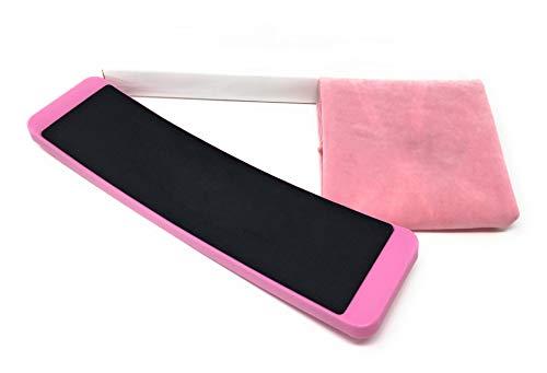 Cettkowns Ballett-Stretch-Band und Turnboard mit Tragetasche, für Ballett-Pirouettentraining, verbessert Drehungen und Spins, erhöht Flexibles Kraft-Balance für Ballett-Tänzerinnen, Pink (Turn Board)