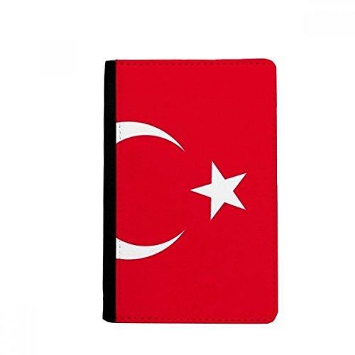 beatChong Türkei Nationalflagge Asien Land-Pass-Halter Travel Wallet Abdeckungs-Fall Karten-Geldbeutel