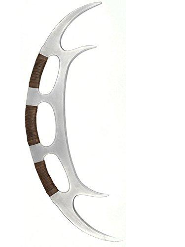 Neben Star Trek Kostüm (STAR TREK 39.446,2cm die nächste Generation Schaumstoff Prop Replica Nachbildung Klingone Batleth Figur)