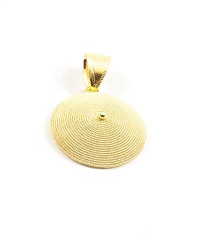 Ciondolo corbula oro giallo 18kt