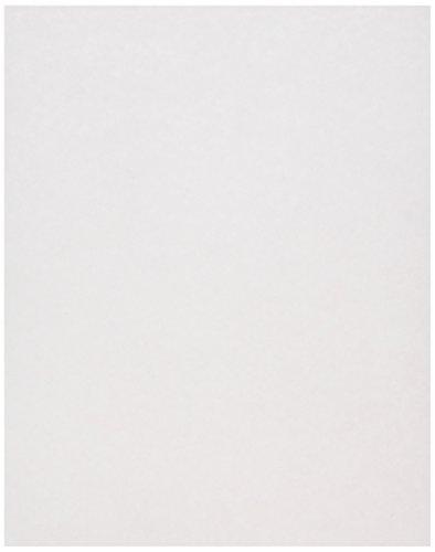 JAM PAPER Papel Pergamino - 215,9 x 279,4 mm - 90gsm - Hielo Rosa Reciclado - 100 Hojas/Paquete