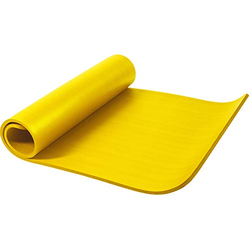 GORILLA SPORTS Yogamatte 190 x 60 x 1,5 cm / 190 x 100 x 1,5 cm XL extra dick - Gymnastikmatte in 12 verschiedenen Farben, rutschfest und phthalatfrei
