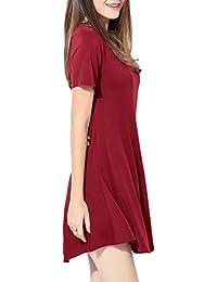 f0731b5f1d0c Amazon.it  vestitini rossi - Donna  Abbigliamento