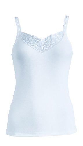 Schöller Damen Achselhemd 3er-Pack 58100_500 Weiß