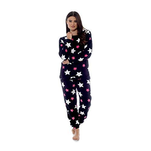 28a8380691b9f0 Style It Up - Pigiama da Donna con Stampa Animali, Caldo e Morbido,  Abbigliamento