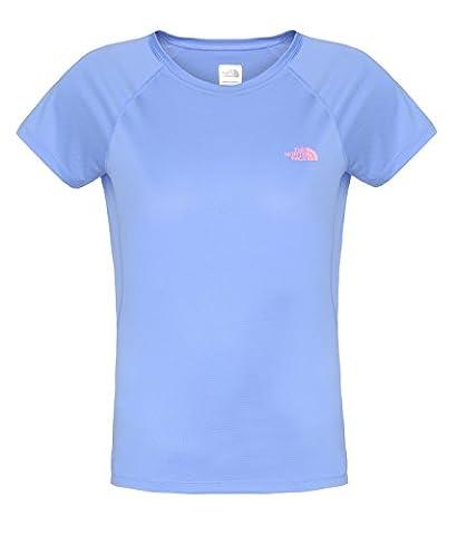 The North Face Solid Flex Crew T-shirt à manches courtes pour femme Violet Violet lavande petit