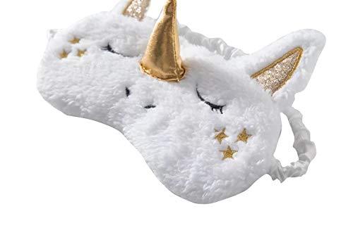 thematys Einhorn Schlafmaske für Kinder - komfortable und leichte Schlafbrille für einen erholsamen Schlaf - zum Reisen & Zuhause ()