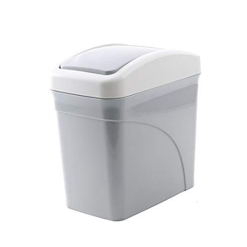 ini Desktop Papierkorb/Abfallbehälter/Schreibtisch Mülleimer mit Rollenabdeckung für Büro, zimmer, Schreibtisch ()