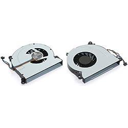 DNX Ventilateur Compatible pour Ordinateur PC Portable HP Envy 15-j147nf 720235-001, Neuf Garantie 1 an, Fan, Note-X Livraison Gratuite