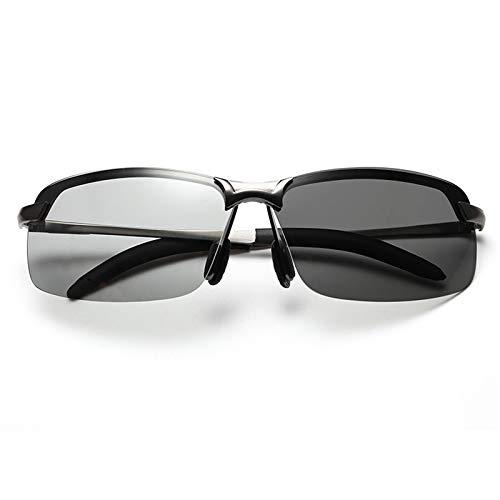 Man Al-Mg Metal Frame Ultra Light Premium Al-Mg Alloy Pilot Polarized Sunglasses, Full Mirrored Spring Hinges Sun Glasses for Men Women