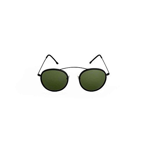 Spektre Met-ro 2 Sonnenbrille Männer Frauen hoher Schutz gruen Made in Italy