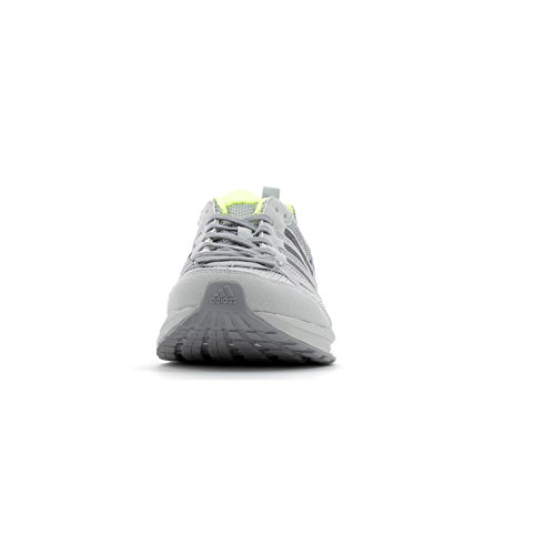 adidas Herren Adizero Tempo 9 Laufschuhe Grau (Grey Two/core Black/solar Yellow)