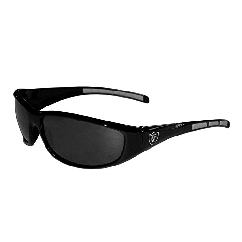 (Siskiyou Gifts Co, Inc. NFL Wrap Sonnenbrille, Herren, Oakland Raiders)