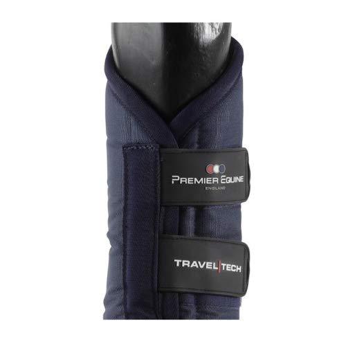 Premier Equine Transportgamaschen Travel-Tech Travel Boots Größe L, Farbe Navy
