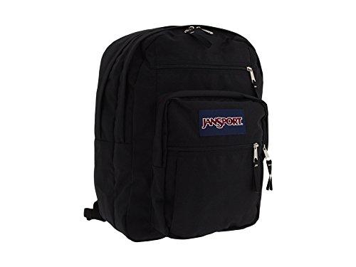 JanSport Big Student Backpack (All Black) (Rucksack Schwarz Jansport Alle)