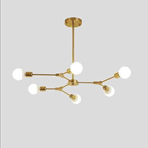 Sputnik 12 Birnen Vintage Industrie Kronleuchter Decke Leuchte Anhänger Licht *