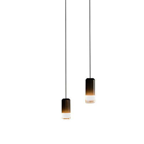 Wireflow FreeForm 0349 LED - Lampe de suspension noir/laqué/H x B: 200 x 31cm/dimmable/109 lm - 2700 K