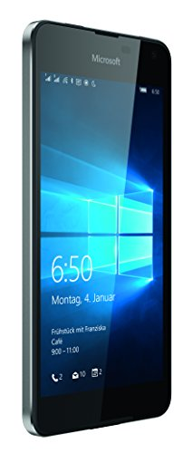 Microsoft Lumia 650 Dual-SIM Smartphone (5 Zoll (12,7 cm) Touch-Display, 16 GB Speicher, Windows 10) schwarz - 2
