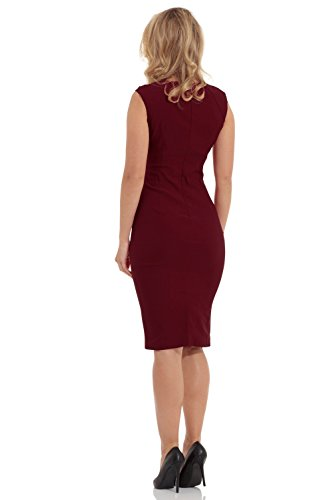 Voodoo Vixen Etui Kleid CLAUDETTE DRESS 2462 Red