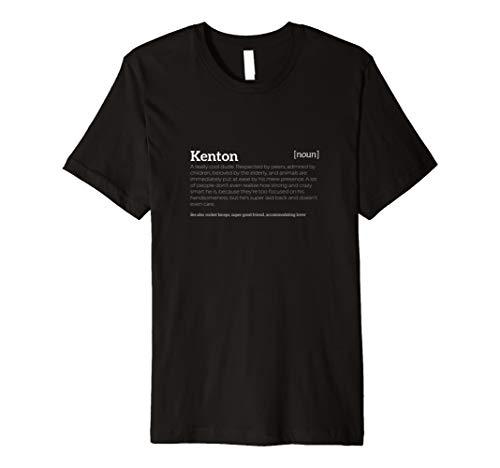 Kenton is a Cool Dude | Funny Compliment T-shirt - Co Kenton