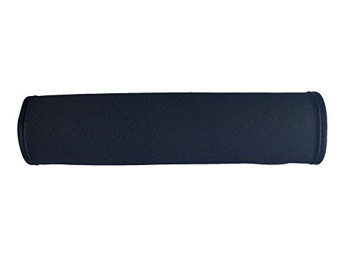 Auto Gurtschutz Sicherheitsgurt Schulterpolster Schulterkissen Autositze Gurtpolster für Kinder und Erwachsene (Schwarz) - von HECKBO