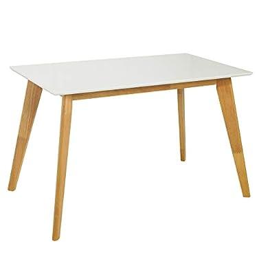 Invicta Interior Moderner Esstisch Scandinavia Größenwahl weiß Eiche Skandinavisches Design Holztisch Konferenztisch