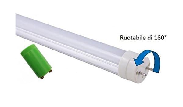 Plafoniera Tubo Led Philips : Tubo led 150 cm 24watt bianco naturale equivalente neon da 58w