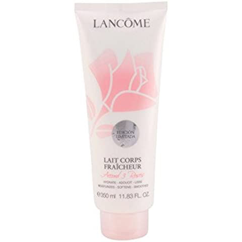 Lancome La Rose Fresh Body Milk Limited Edition 350ml