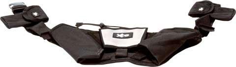 XCO® Walking und Running Gürtel, 2 Taschen für die XCO-Trainer, Trainingsplan, Mp3-Player - Gürtel Mp3