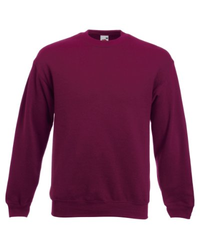 Fruit of the Loom - Sweat à capuche -  Femme x-large Rouge - Bordeaux